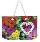 Love Flowers Garden Weekender Tote Bag