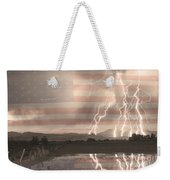 Love For Country Weekender Tote Bag by James BO  Insogna