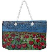 Love For Flanders Fields Poppies Weekender Tote Bag