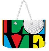 Love Golf Weekender Tote Bag