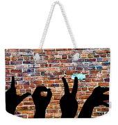 Love Hands Weekender Tote Bag
