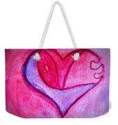 Love Heart 3 Weekender Tote Bag