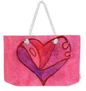 Love Heart 6 Weekender Tote Bag