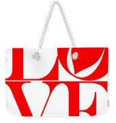 Love In Red Weekender Tote Bag