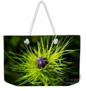 Love-in-the-mist Weekender Tote Bag