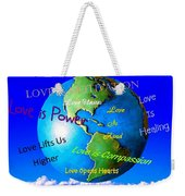 Love Is. . . . Weekender Tote Bag