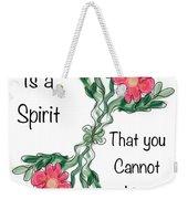 Love Is A Spirit Weekender Tote Bag