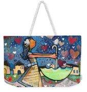 Love Is Abundant Weekender Tote Bag by Jen Norton