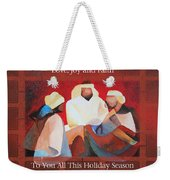 Love Joy And Faith To You All This Holiday Season  Weekender Tote Bag