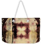 Love Letter Mandala - Contemporary Weekender Tote Bag