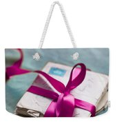 Love Letters Tied With Ribbon Weekender Tote Bag