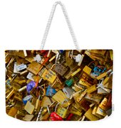 Love Locks Eternal Weekender Tote Bag