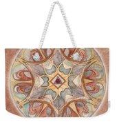 Love Mandala Weekender Tote Bag