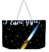 Love Message Digital Painting Weekender Tote Bag