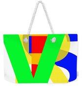 Love More Hate Less  Part Three Weekender Tote Bag