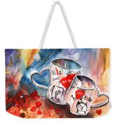 Love Mugs Weekender Tote Bag