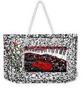Love Music Memories Original Acrylic Painting  Weekender Tote Bag