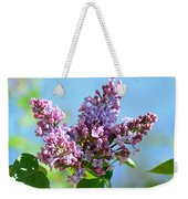 Love My Lilacs Weekender Tote Bag