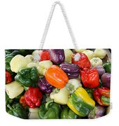 Love My Peppers Weekender Tote Bag