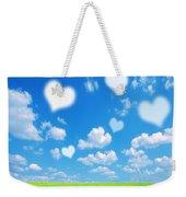 Love Nature Background Weekender Tote Bag