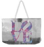 Love - New York City Weekender Tote Bag