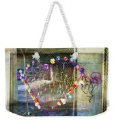 Love Note Under The Bridge Weekender Tote Bag