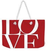 Love On Red Weekender Tote Bag