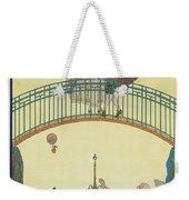 Love On The Bridge Weekender Tote Bag
