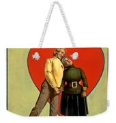 Love Or Mush Weekender Tote Bag by Terry Reynoldson