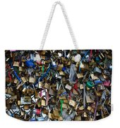 Love Padlocks On Pont Des Art Weekender Tote Bag