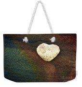 Love Stone - Framed Weekender Tote Bag