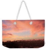 Love Sunset Weekender Tote Bag