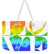 Love The Rainbow Weekender Tote Bag