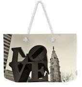 Love You Too Weekender Tote Bag