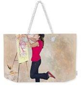 Love Your Art Weekender Tote Bag