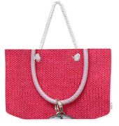 Loved With An Everlasting Love Pendant Weekender Tote Bag by Carla Parris
