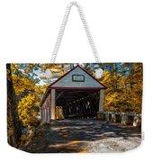 Lovejoy Covered Bridge Weekender Tote Bag by Bob Orsillo