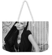 Lovely Bw Liberace Home Palm Springs Weekender Tote Bag by William Dey