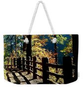 Lovely Day For Hike Weekender Tote Bag
