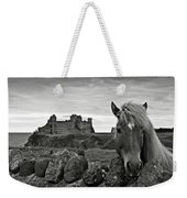 Lovely Horse And Tantallon Castle Weekender Tote Bag
