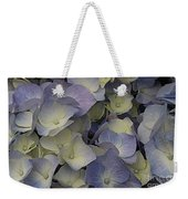 Lovely In Blue And White - Hydrangea Weekender Tote Bag