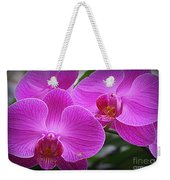 Lovely In Purple - Orchids Weekender Tote Bag