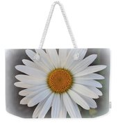Lovely In White - Daisy Weekender Tote Bag
