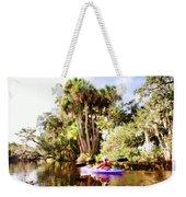 Lovely Kayaker Weekender Tote Bag