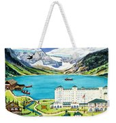 Lovely Lake Louise Weekender Tote Bag