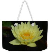 Lovely Lotus Weekender Tote Bag