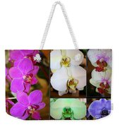 Lovely Orchids - A Collage Weekender Tote Bag