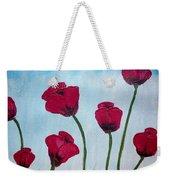 Lovely Poppies Weekender Tote Bag
