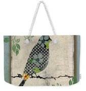 Lovely Song Bird-a Weekender Tote Bag