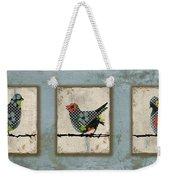 Lovely Song Bird Trio -1 Weekender Tote Bag